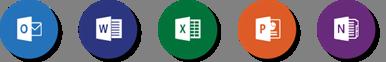 Office app logos